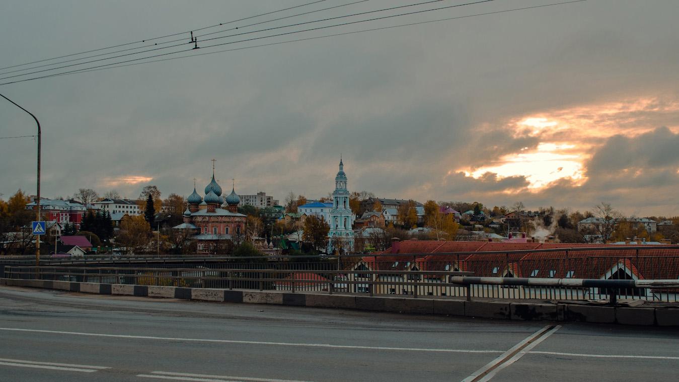 5. Прогулка по Костроме.