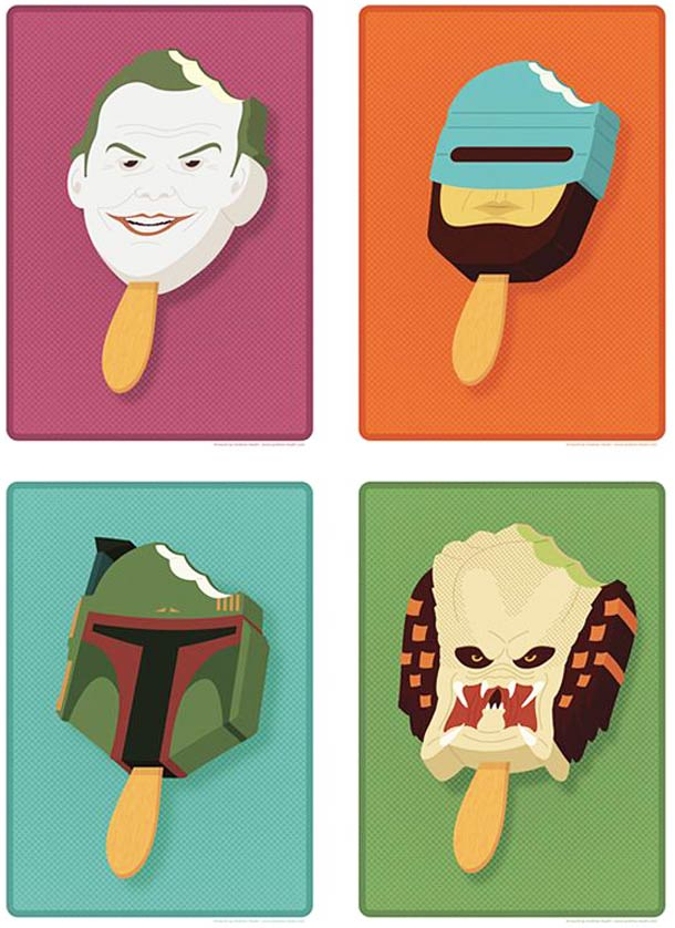Pop Culture Popsicles - Glaces et personnages cultes