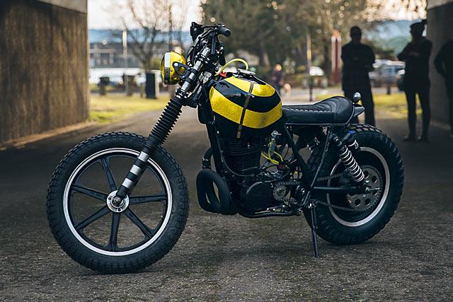 Kick Start Garage: кастом Yamaha XT500 Plan B