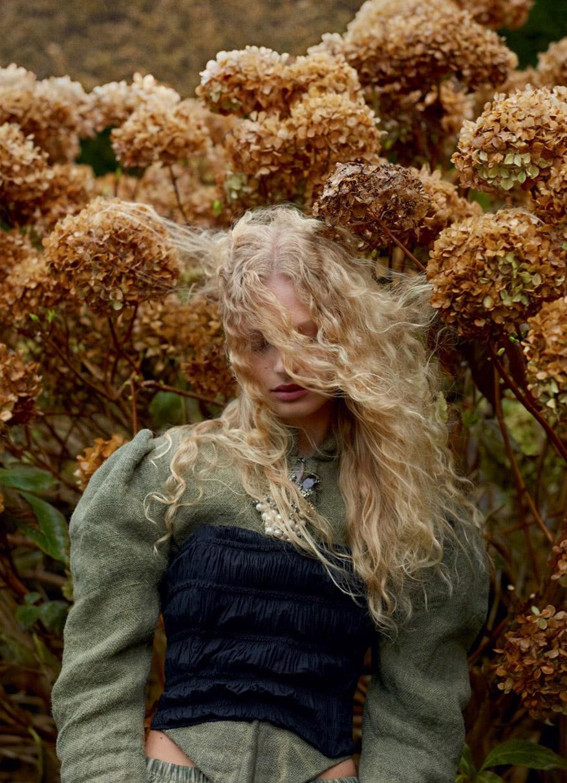Frederikke Sofie by Mert Alas and Marcus Piggott for Double Magazine Spring-Summer 2016