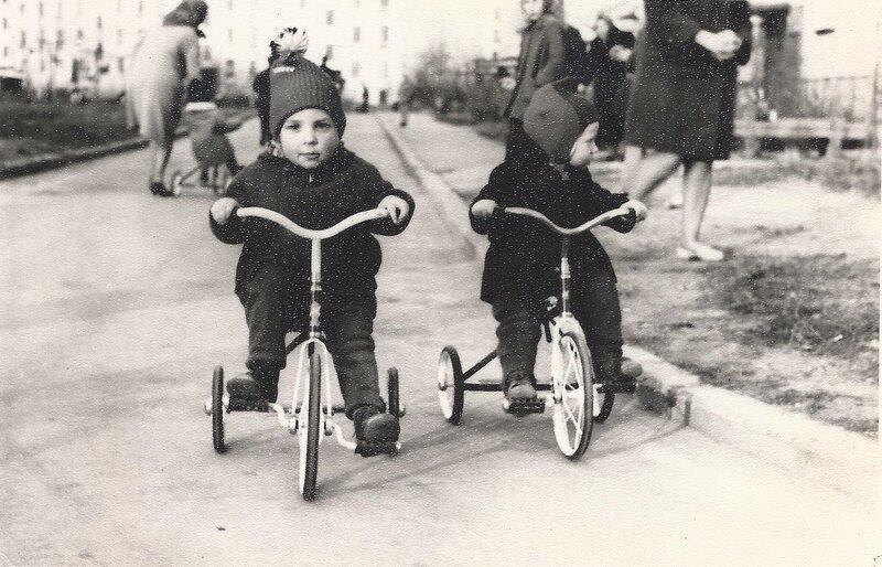 Почти я на велосипеде