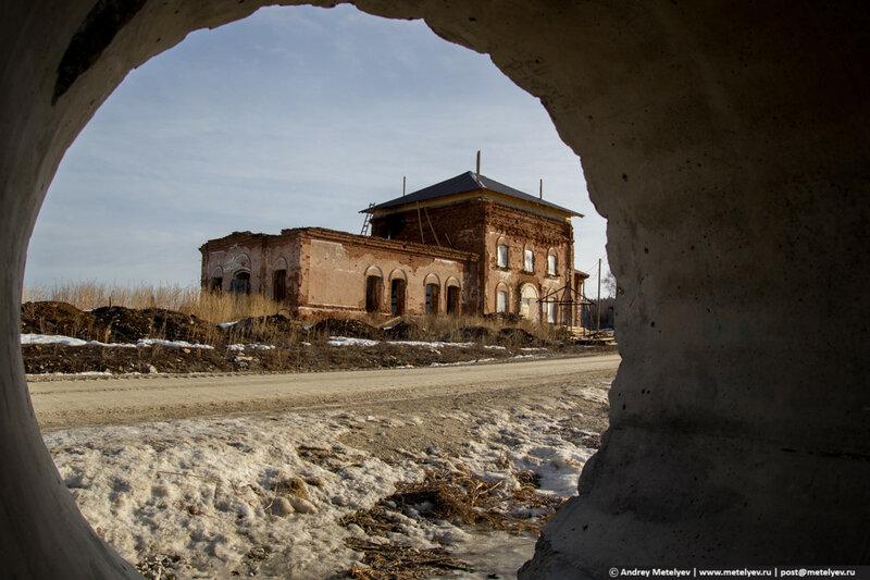 Храм в селе Походилова основан в 1907