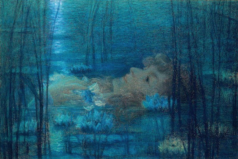Lucien Levy-Dhurmer:Ophelia