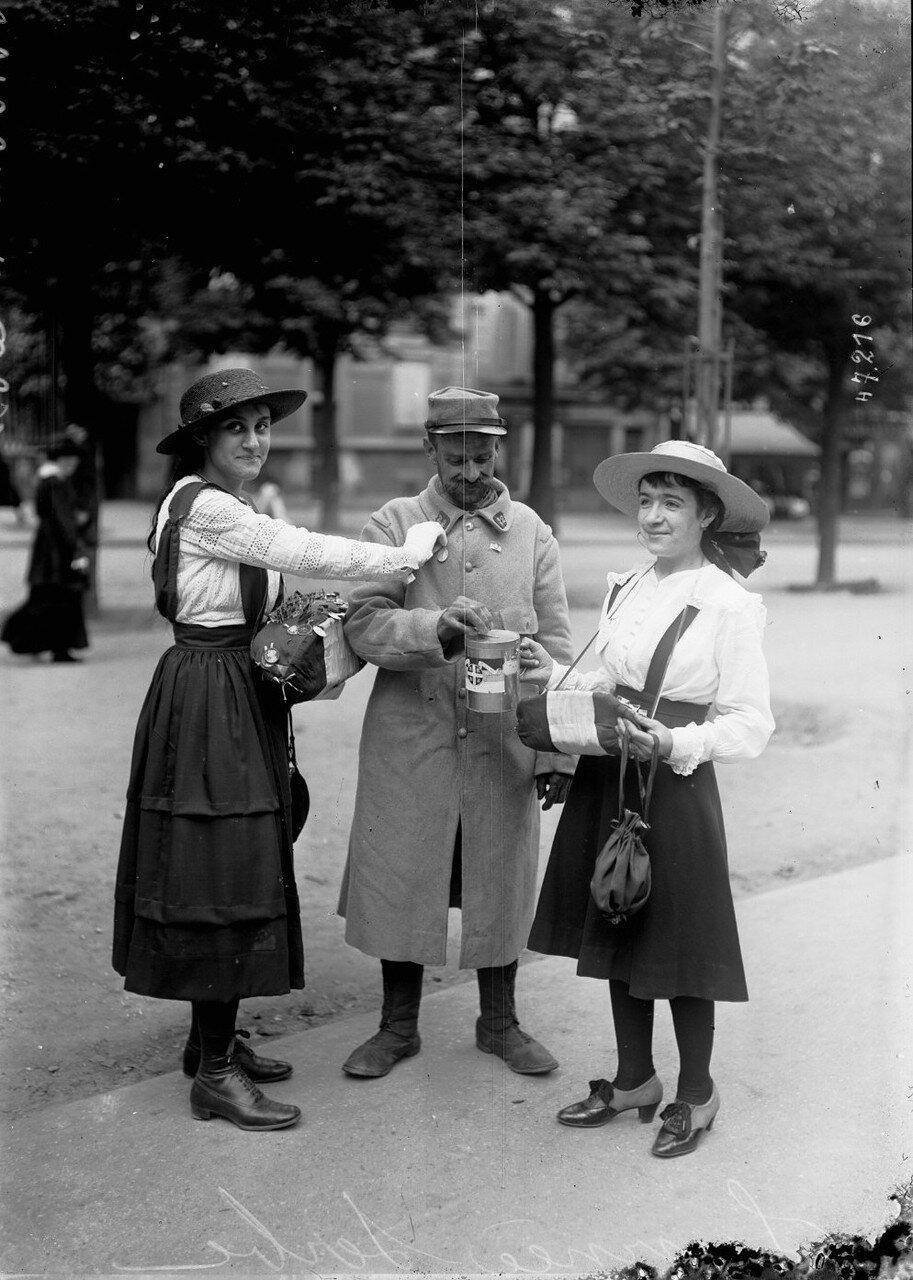 1916. 25 июня. День Сербии