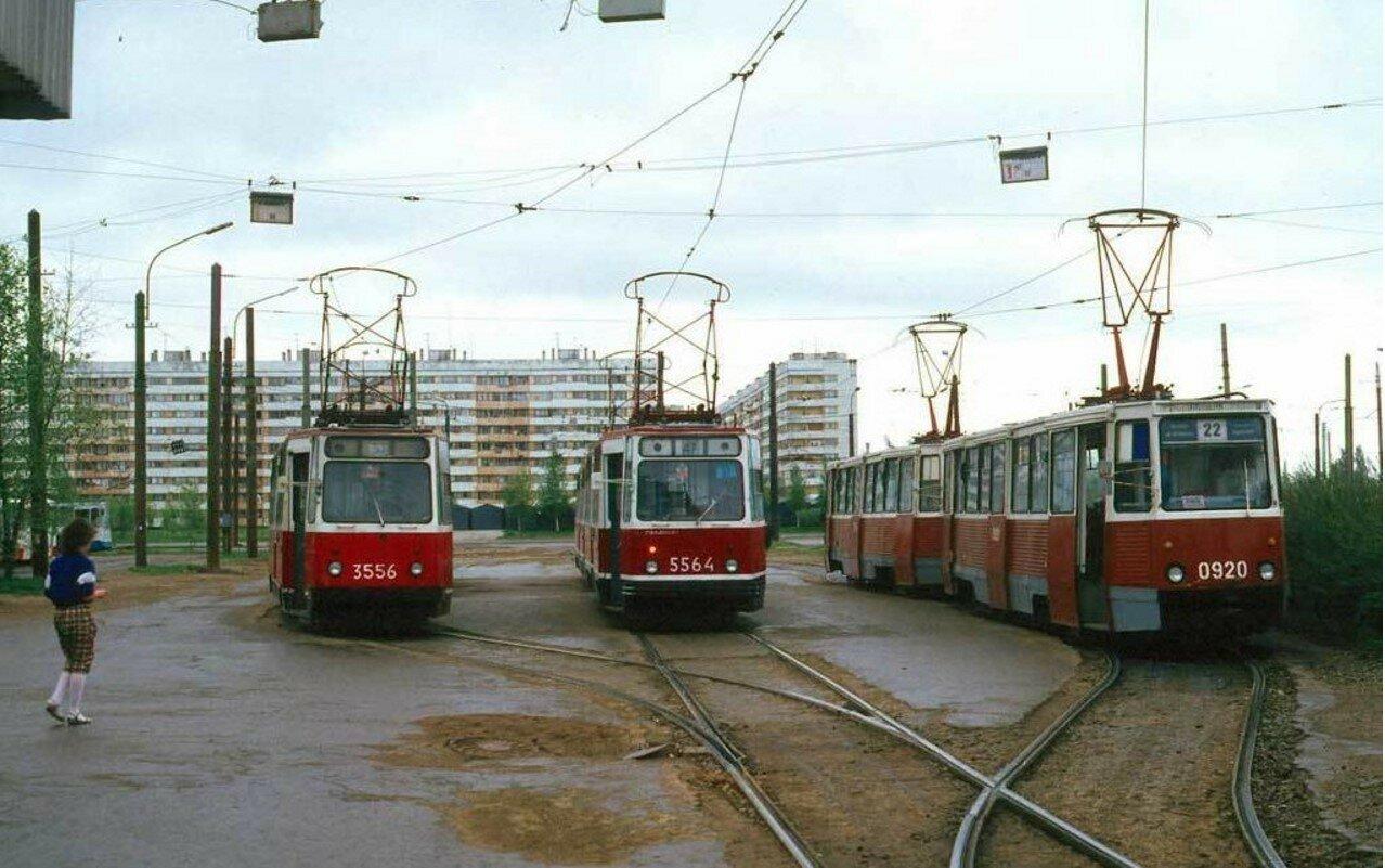 Трамвайное кольцо на Суздальском проспекте