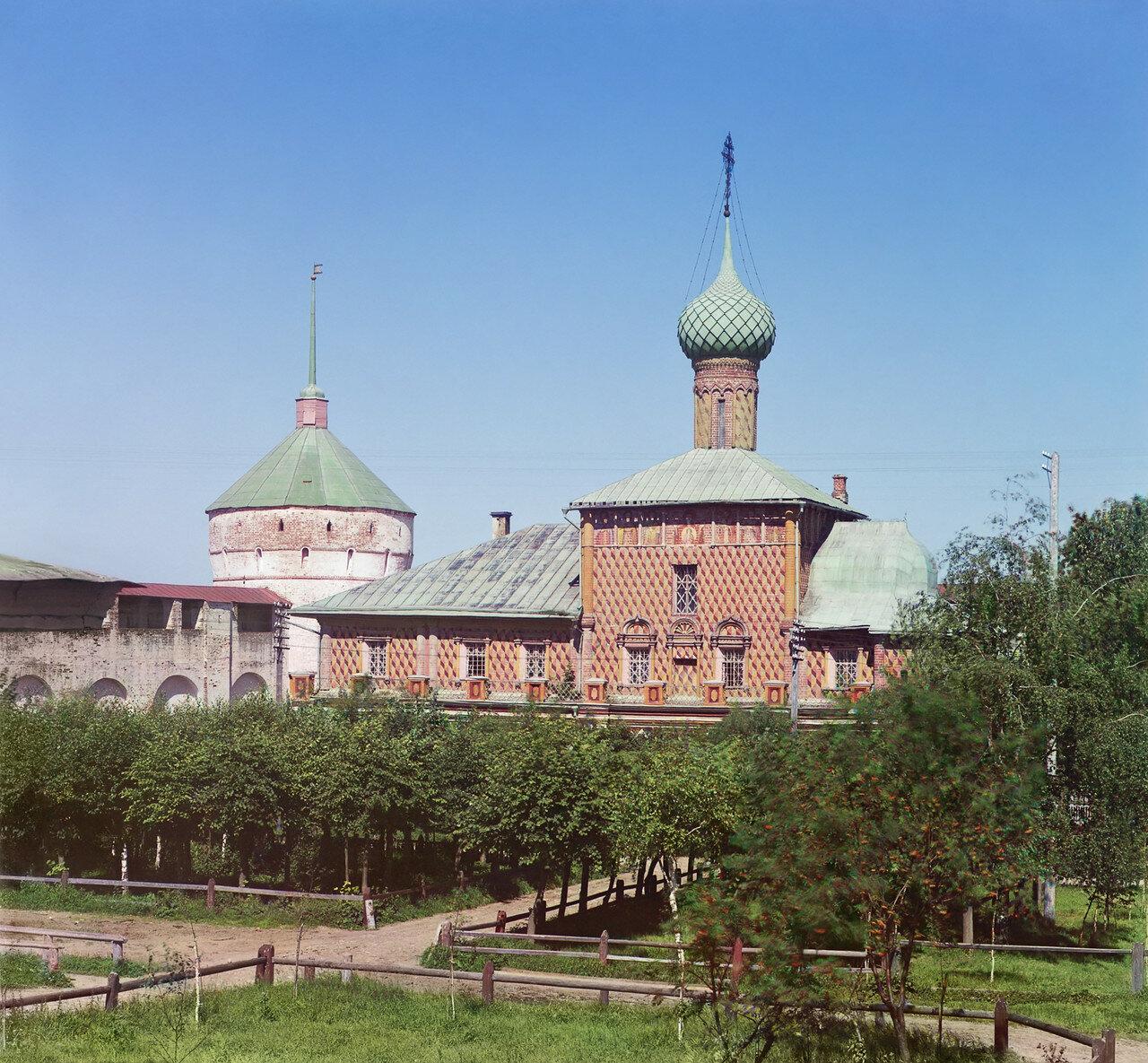 Кремль. Церковь Одигитрии Божией Матери в Кремле