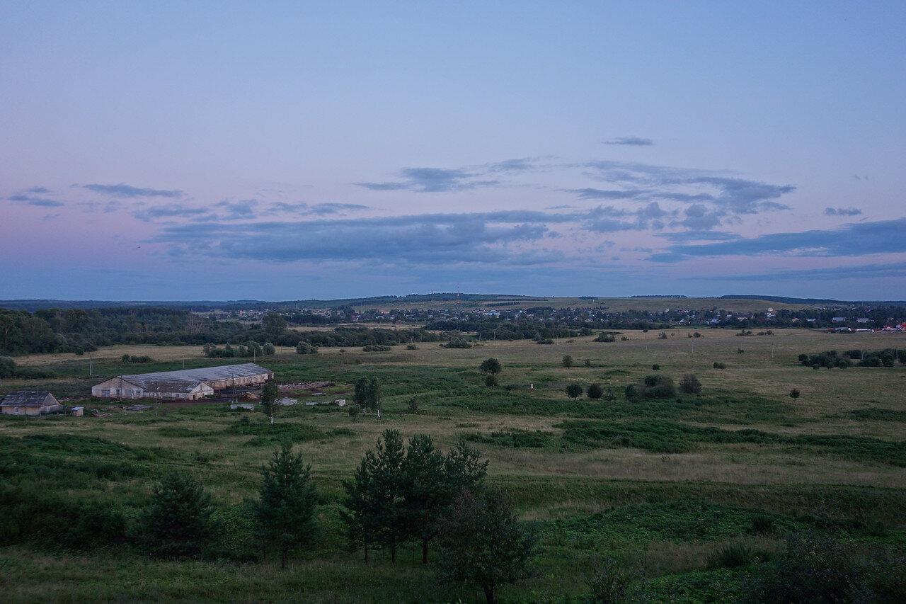 вечернее село Черновское