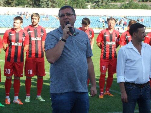 Усатый поблагодарил ФК «Заря» и премировал $100 тысяч