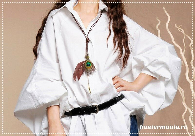 Белая блуза - основа гардероба