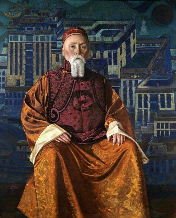 """Святослав Рерих """"Н.К. Рерих"""" 1933"""