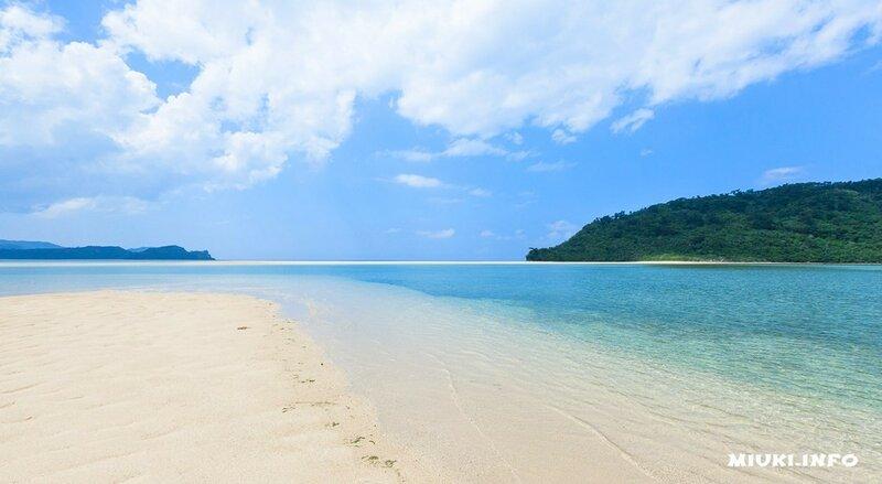 Японский остров Сотопанари (Sotobanari)