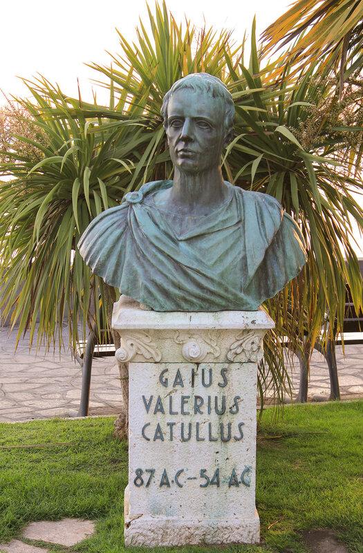 Бюст Gaius Valerius Catullus