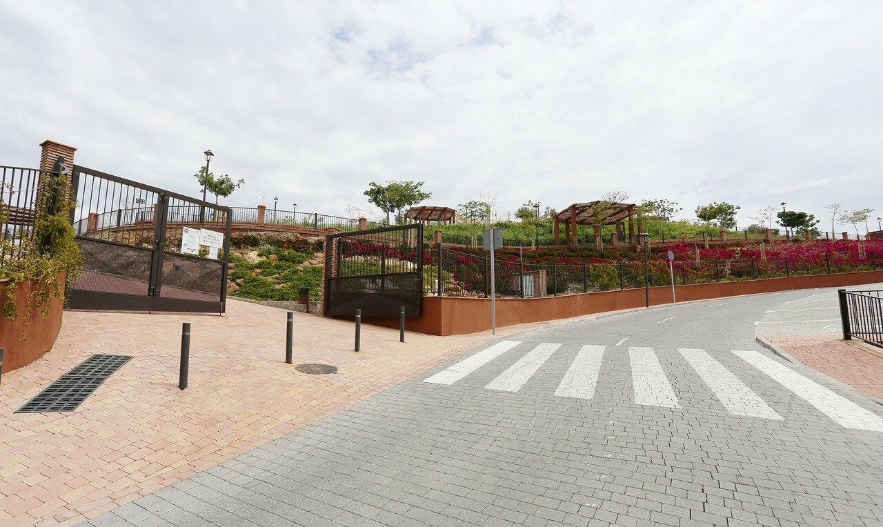 Велес-Малага. Парк Ремедиос (Jardín de los Remedios)