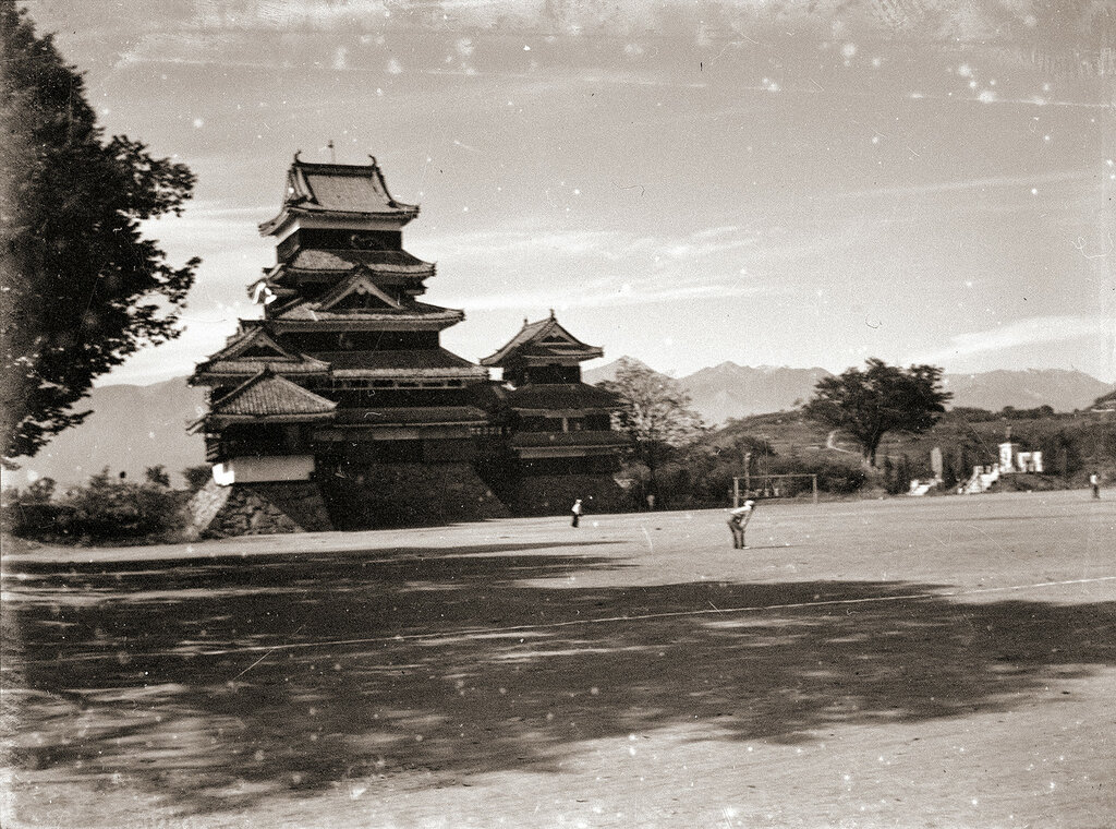 Matsumoto Castle 1930s Japan.