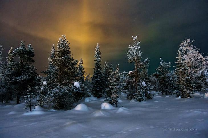 Что можно увидеть в небе над Лапландией? (14 фото)