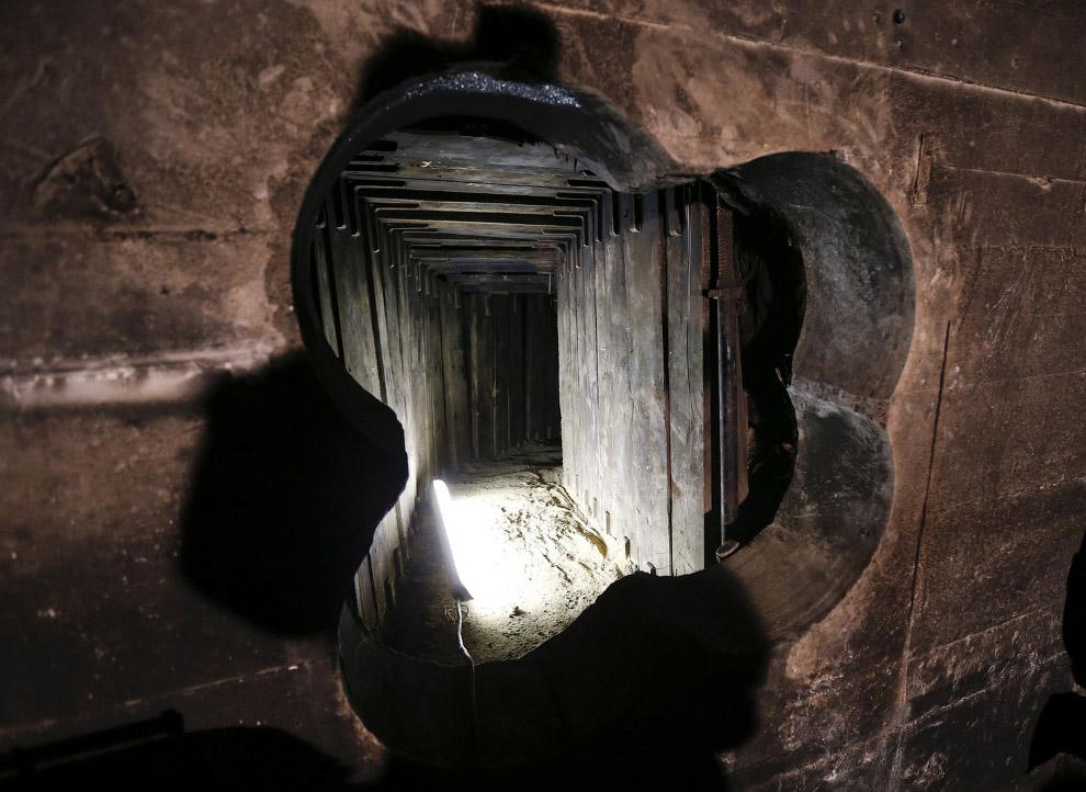 22. Так выглядит тайный подземный бункер лидера итальянского фашизма Бенито Муссолини, который