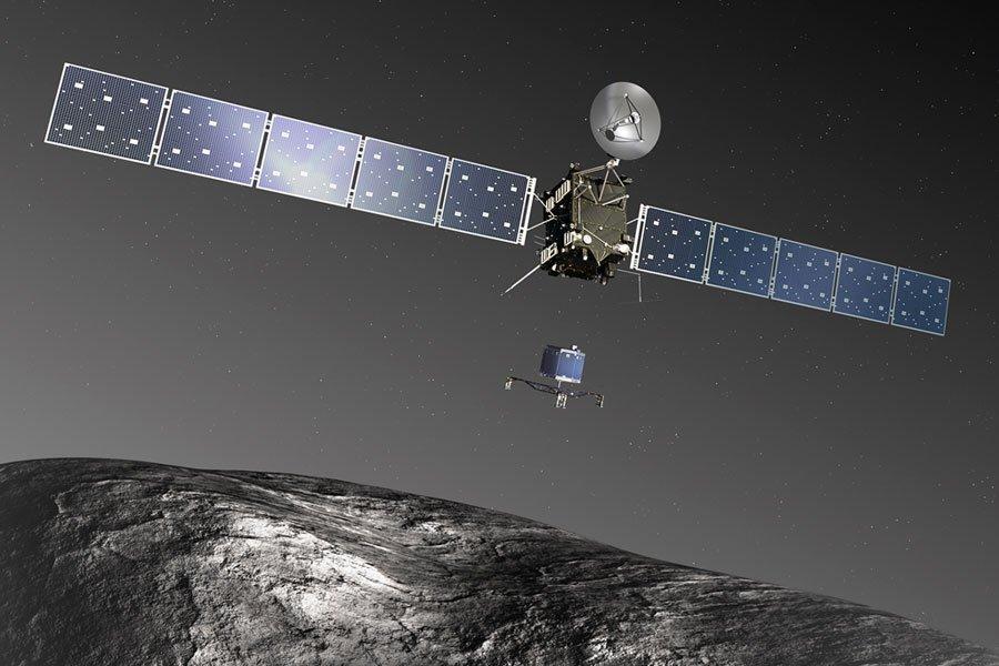 Зонд «Розетта» приоткрыл тайну рождения планет