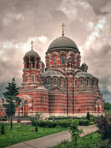 Троицкий храм в Щурове