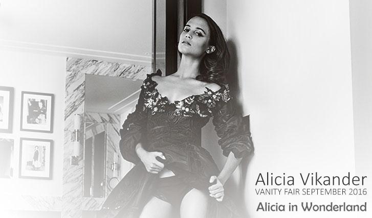 Алисия Викандер / Alicia Vikander by Mario Testino - Vanity Fair september 2016
