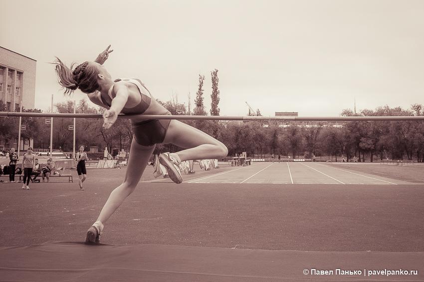 спорт прыжки в высоту легкая атлетика