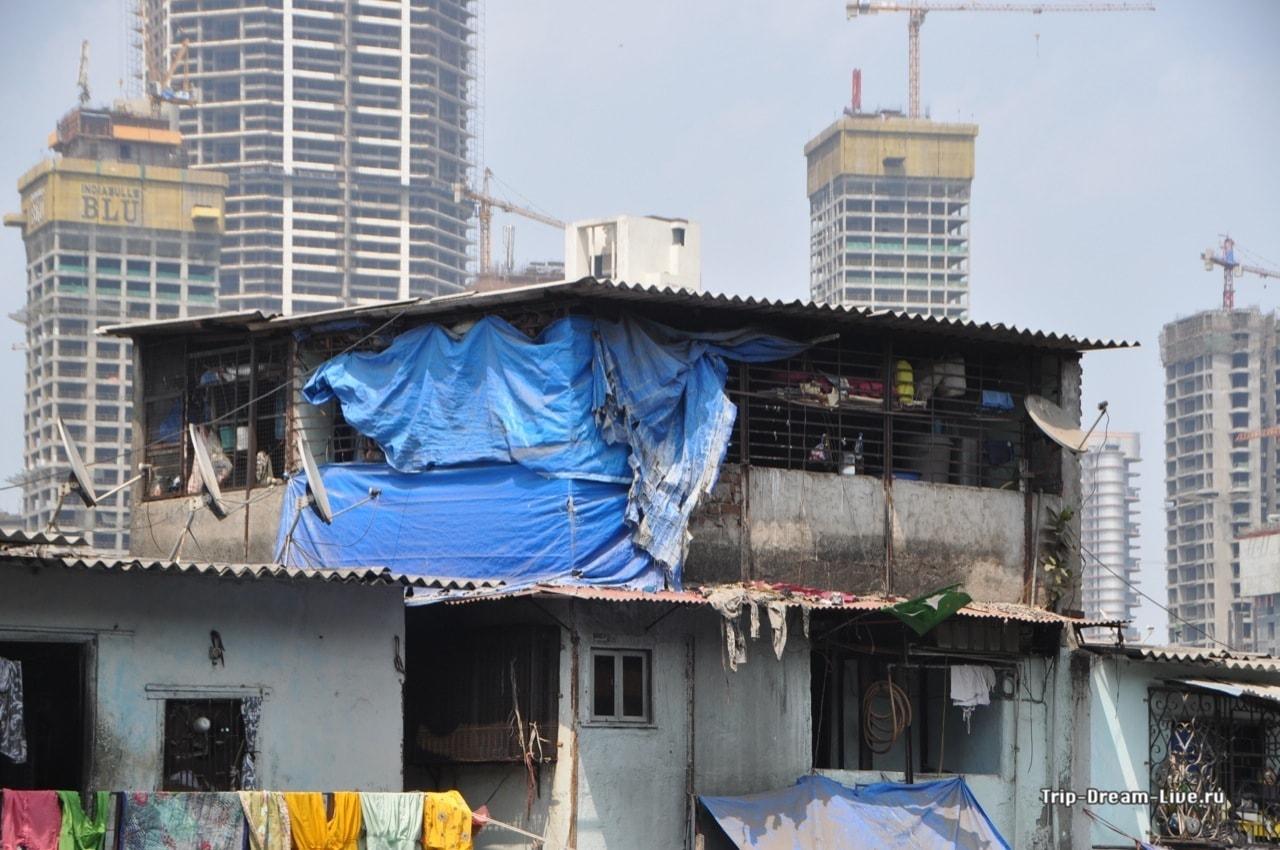 Трущобы Мумбаи