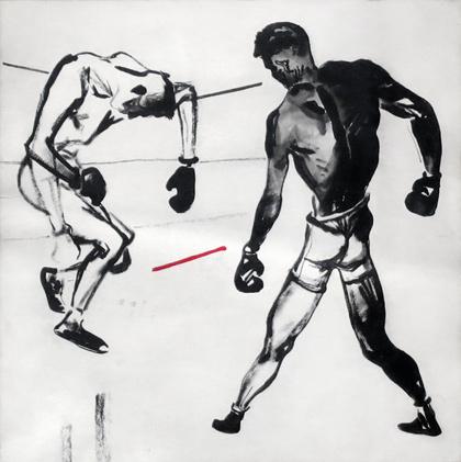 Александр Дейнека, «Боксёры», 1927 © Александр Дейнека