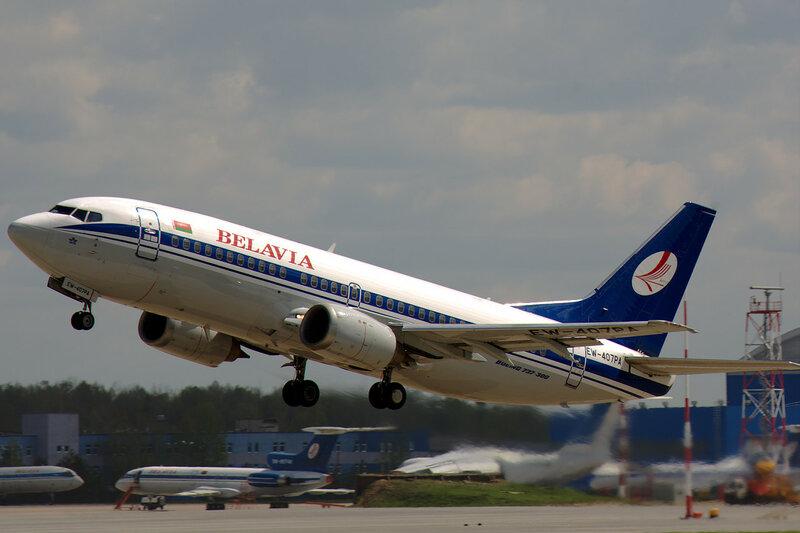 Belavia EW-407PA