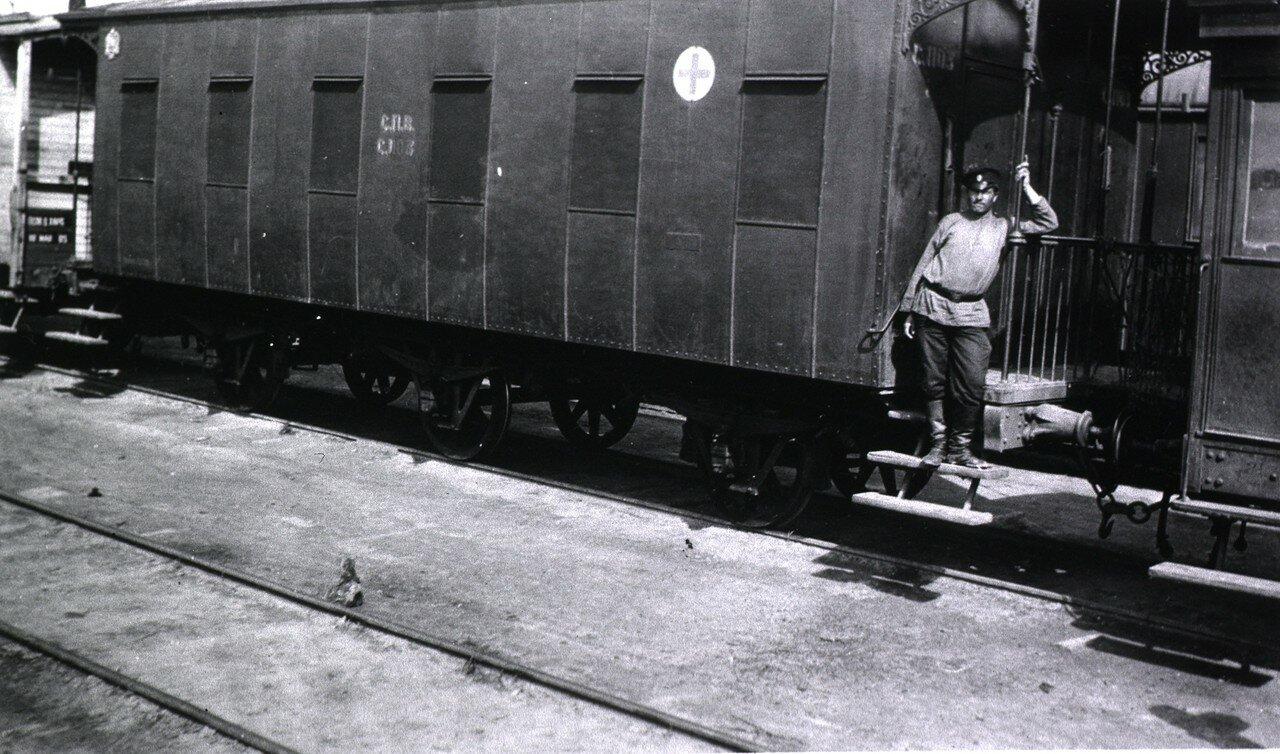 Санитарный поезд No.17. Операционная