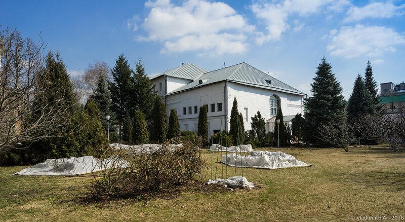 Настоятельский корпус Новоспасского монастыря (XVII век)