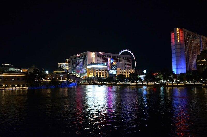 Лас-Вегас и обзорное колесо