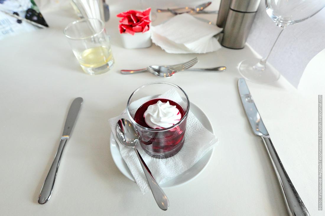 Десерт «Вишневый смак»