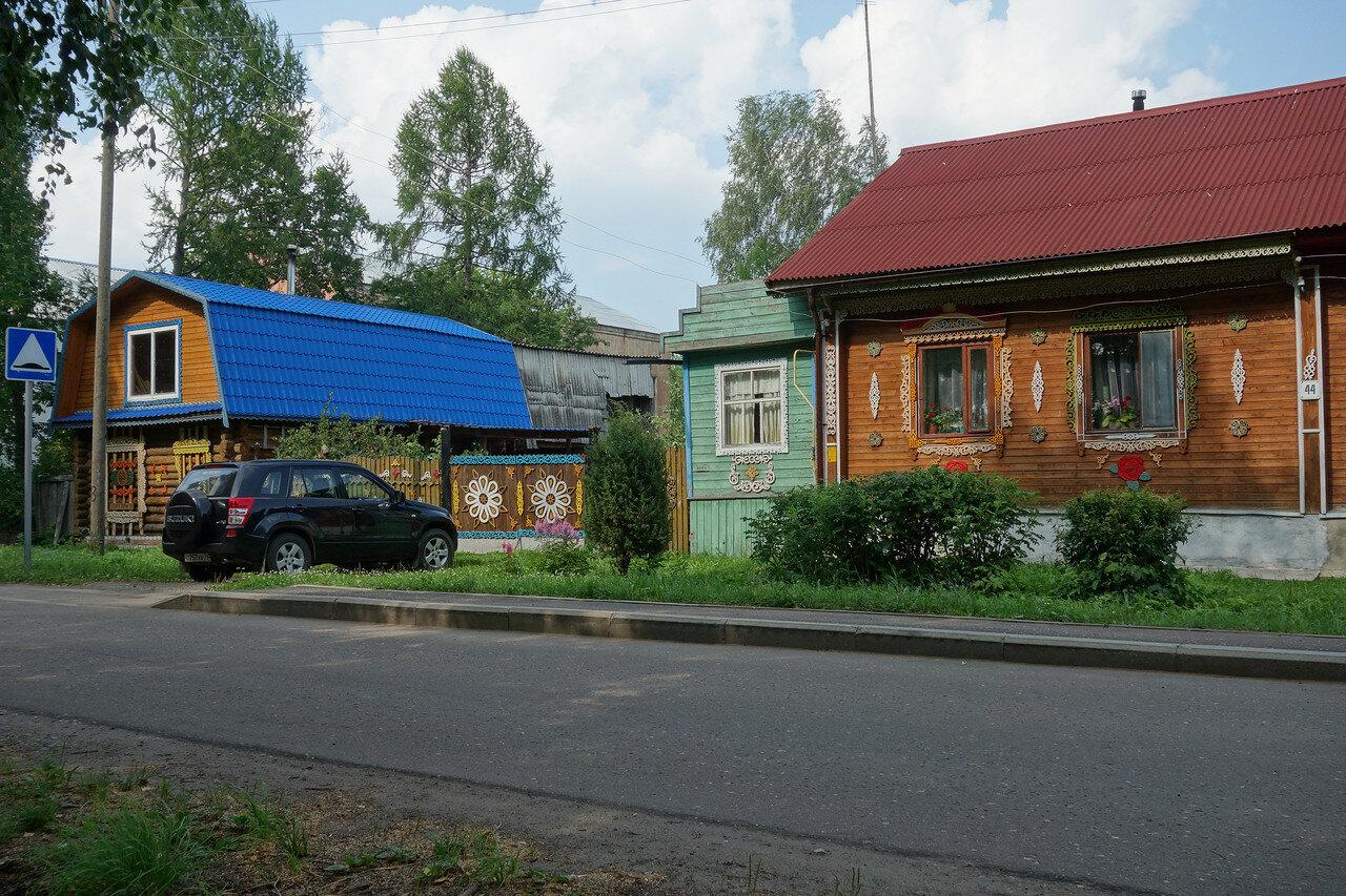 дом, красивая отделка