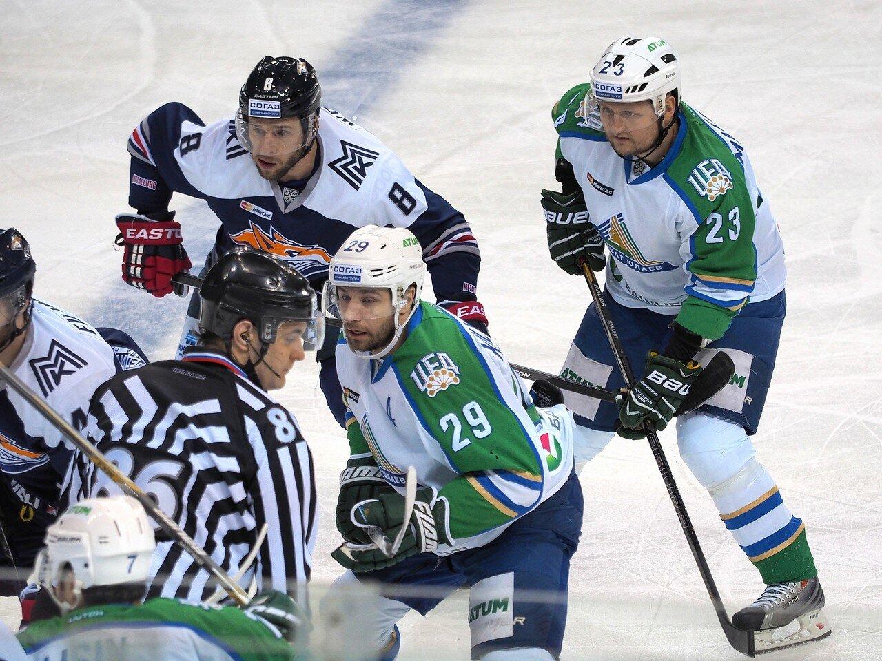 140Плей-офф 2016 Восток Финал Металлург - Салават Юлаев 23.03.2016
