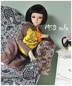 Sofa for MSD BJD