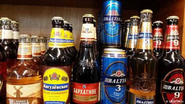 Находятся такие, что пьют: Россия вопреки эмбарго увеличила экспорт пива в Украине