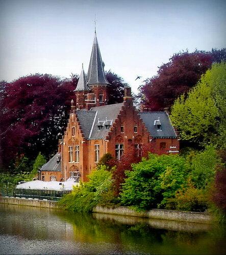Замок на озере Любви