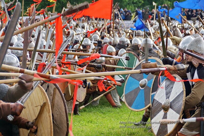 Битва тысячи мечей,