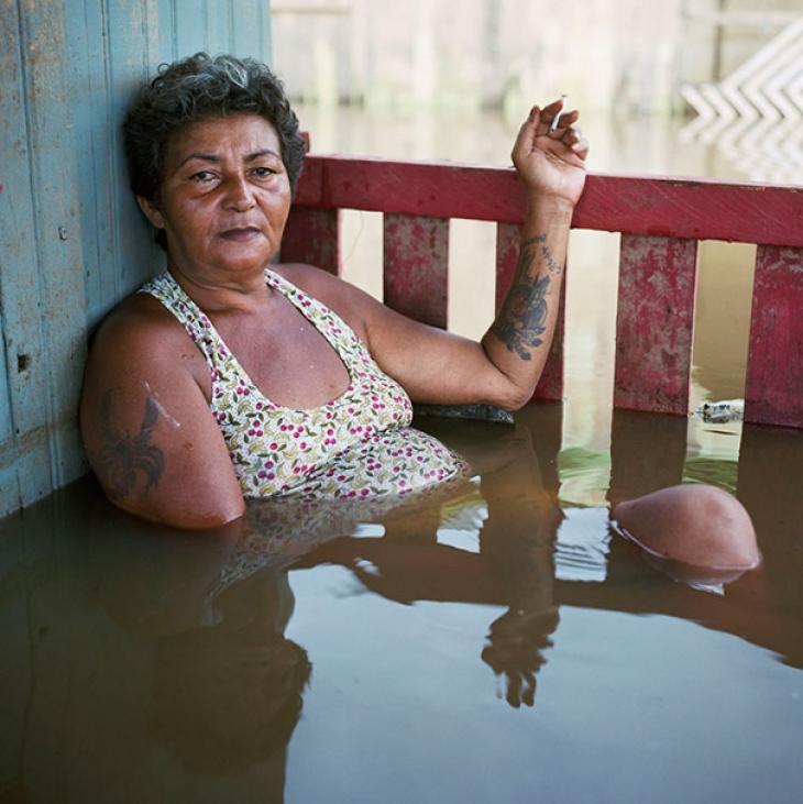 Бразилия, Риу-Бранку, март 2015. Франциска Чагас дос Сантос.