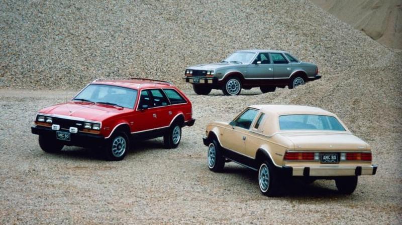 AMC Eagle Поскольку основой стал Concord, то он и стал основным