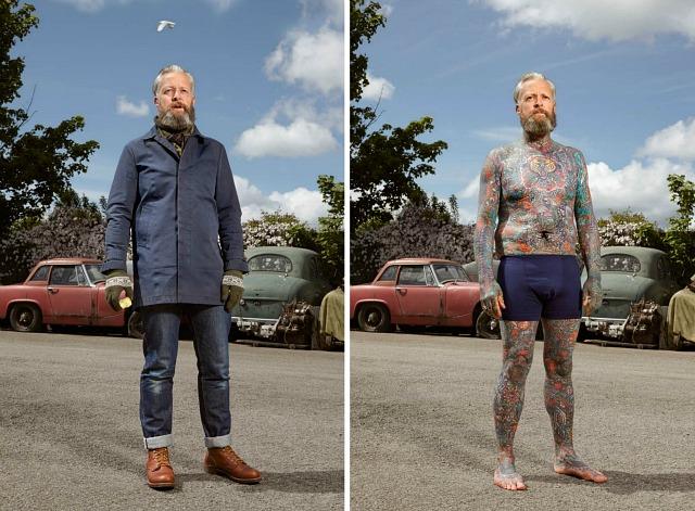 6. Алекс, 49 лет, Уитби. «Моя мама была не в восторге, когда впервые увидела татуировку на моей руке