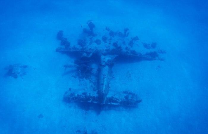 Подводное кладбище самолетов