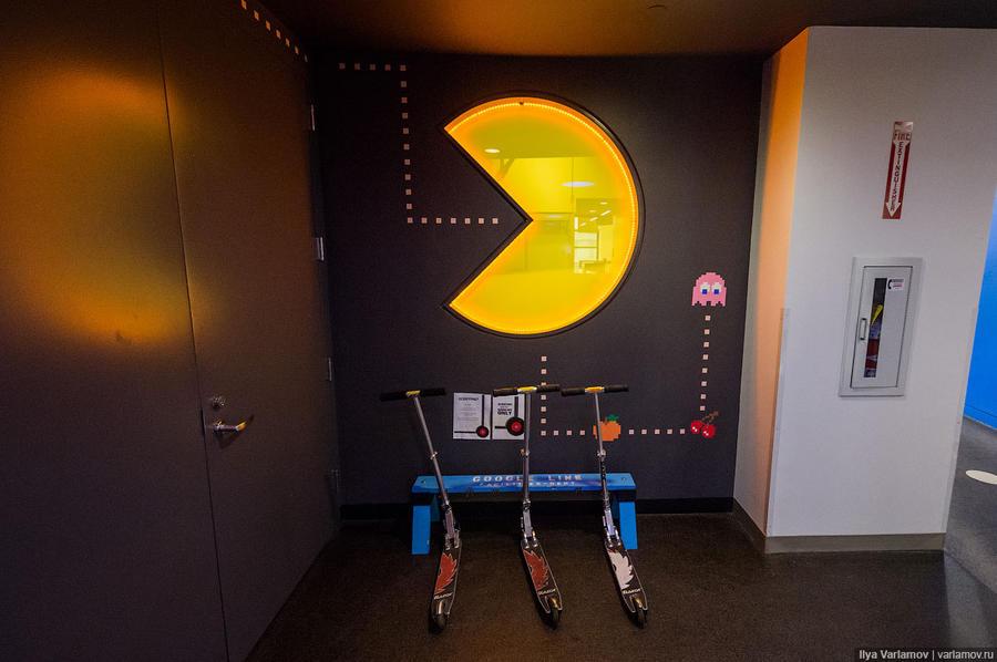 Офис Google в Нью-Йорке: работа мечты (53 фото)