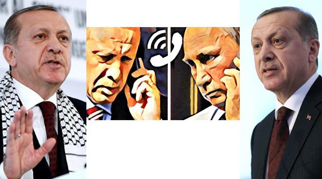 Путин побеседовал сЭрдоганом потелефону