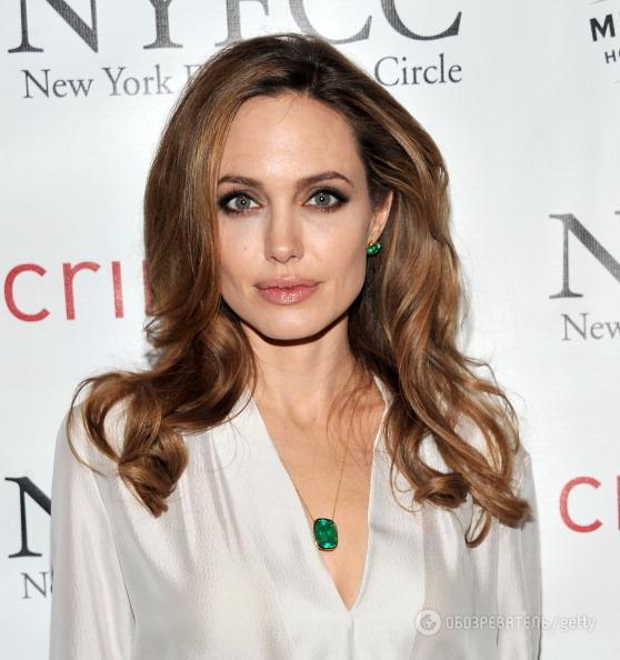 Анджелина Джоли возобновила старый роман