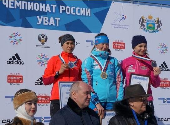 Екатеринбурженка взяла золото вчемпионате РФ побиатлону