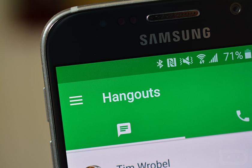 Google уберет SMS изHangouts для андроид с22мая
