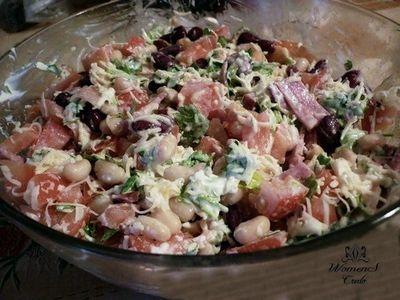 Сытный и простой салатик