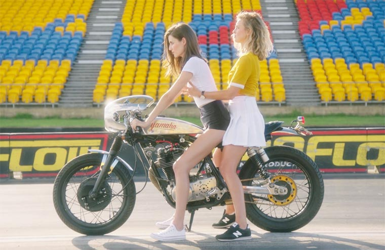 How to Ride Bitches - A sexy video to learn how to ride together on a motorcycle