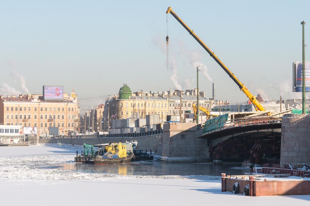 Ремонт Тучкова моста
