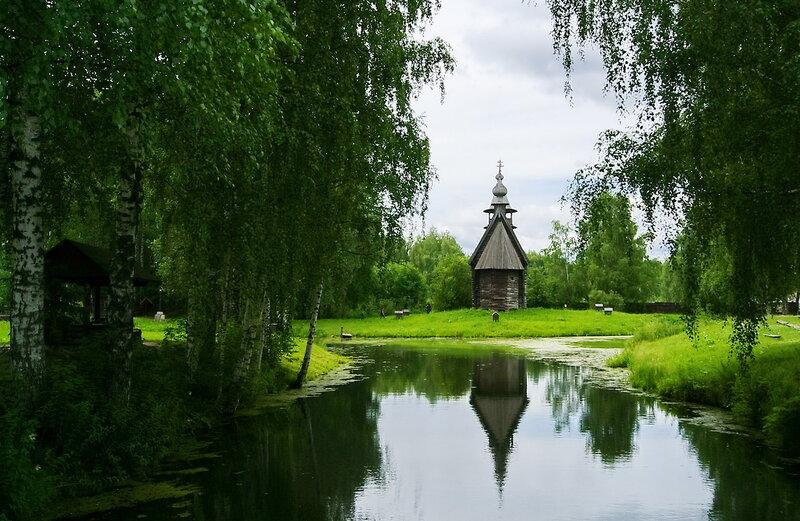 Церковь Всемилостивого Спаса 1712г.
